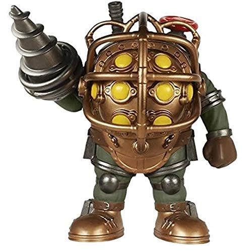 Funko Pop Games : Bioshock - Big Daddy 6inch Vinyl Gift for Game Fans SuperCollection