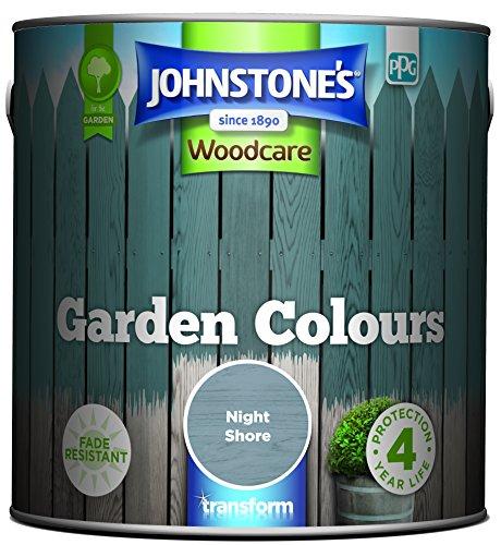 Johnstone's 309289 Garden Colours, Night Shore, 2.5 Litre