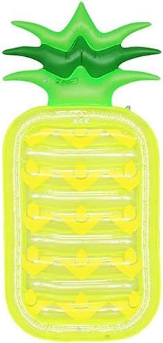 WEIFAN-1 Anneau Gonflable de Natation de rangée de Flotteur d'ananas, lit Gonflable de l'eau Adulte Montant Flottant Monter