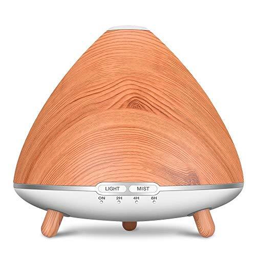 Difusor de Aroma humidificador de Aire humidificador ultrasónico LED de luz de la Noche de intervalo La definición de Poco Ruido Inteligente de Seguridad de Ahorro de energía silenciosa 1pc 500ml