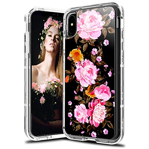 Leptech Flower Pattern Series iPhone XS Case