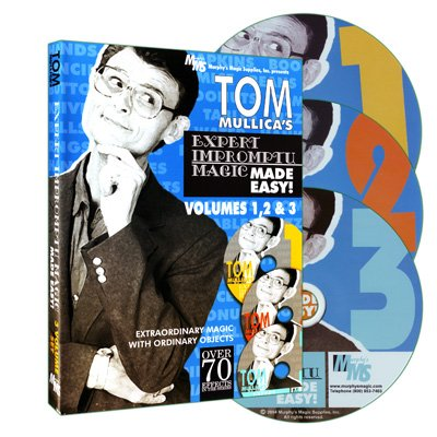 Murphy's Tom Mullica's Impromptu Magic 3 Disc Combo by Magic Supplies - DVD