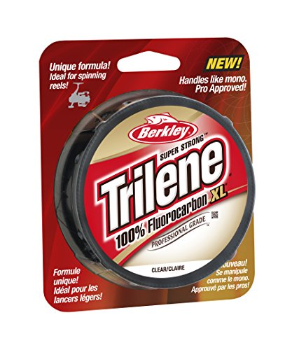 Berkley Trilene Fluorocarbon Professional Grade Filler Spool Fishing...