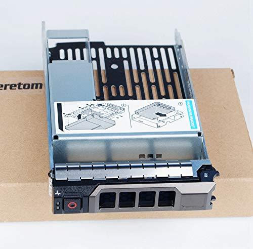 Heretom Hybrid Hard Drive 6,3 cm 2.5' 9W8C4 Vassoio Adattatore a 8,9 cm 3.5' Tray Caddy for Dell R730xd R720xd T610 T630 R320 R420 R530 R720 T320 T420 T620 T430 MD1200 MD3200