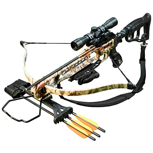 Viking FX1-45 Recurve Crossbow Package with KO 45 Front...