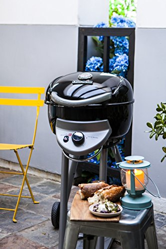 Char-Broil Patio Bistro 240B - Single Burner Barbecue Gill with TRU-Infrared technology, Black.
