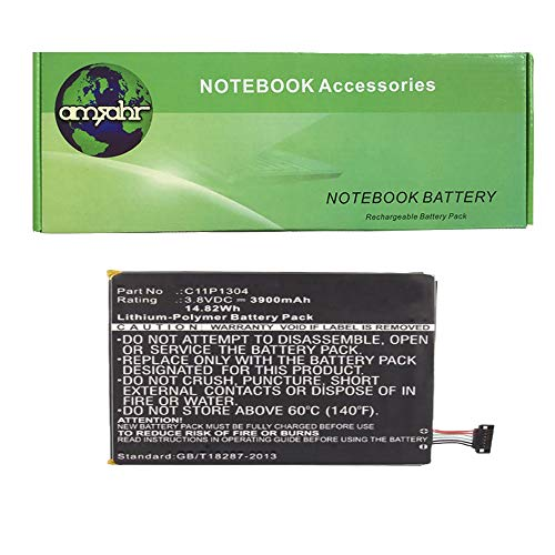 Amsahr C11P1304-05 - Batería de reemplazo para ASUS C11P1304, ME137, ME173X, MeMO...