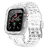 ACOCOBUY - Correa compatible con Apple Watch 38 mm/40 mm, correas de repuesto para Apple Watch Series SE/6/5/4/3/2/1 (38 mm/40 mm) transparente