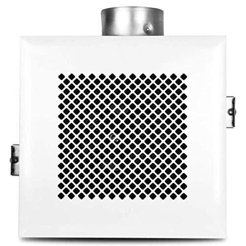 YGB Ventilador silencioso, 30cm 11W 240V Ventilador Extractor de Escape Ventilador Ventana Pared Cocina Inodoro Baño Conducto Booster Soplador Aire Limpio Ventilación de enfriamiento