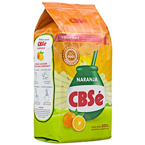 CBSé Mate Tee Naranja / Orange - 500g, Té de Yerba Mate de Argentina