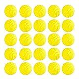 Beetest Balles Nerf Rival [50 Pcs] EVA Mousse Éponge Enfants Jouet Gun Bullet Souple Dart Recharge Balles pour Nerf Rival Zeus Apollo Khaos Atlas Artemis Blasters Jaune