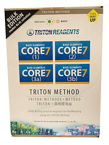 Triton CORE7 Base Elements 4 x 4 litros Balling Acuario Marino