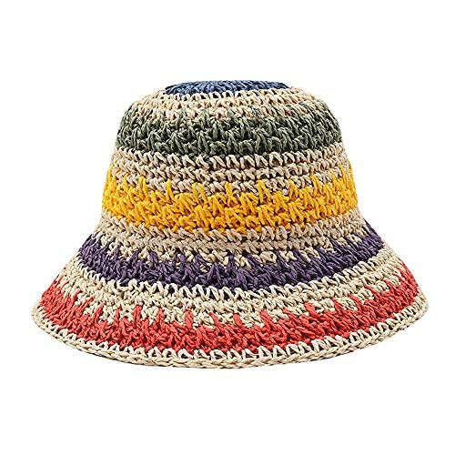 QQYG Sombrero de Playa para Mujer