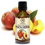 Pfirsichkernöl 50ml - Prunus Persica Kernel Oil - Italien - 100% Rein & Natürlich Pfirsichöl -...
