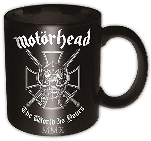 Motorhead - Iron Cross (The World Is Yours) Boxed Mug - Tasse im Geschenkkarton