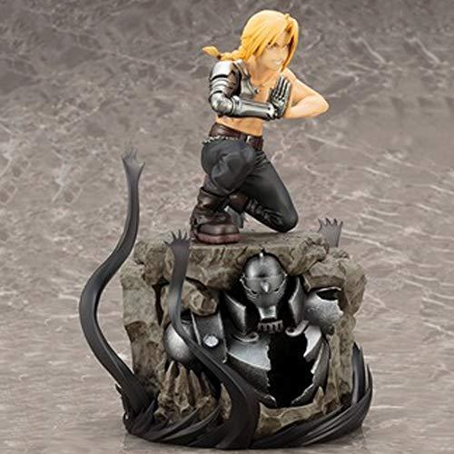 BHNACM Fullmetal Alchemist Edward Elric Animados Carácter Modelo Estatua Figura De Acción De Decoración A