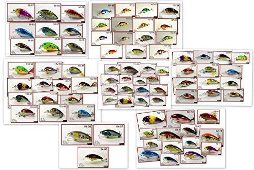 Akuna Bulk Pack 100+ Fishing Lures Crankbaits Spoons And Spinnerbaits