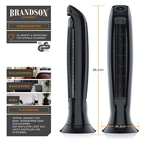 Brandson – Turmventilator  Fernbedinung kaufen  Bild 1*