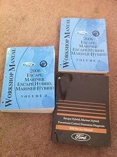 2006 Escape/Mariner/Escape Hybrid Workshop Manual