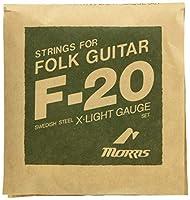 モーリス アコースティクギター弦 Extra Light 10-47 MORRIS F-20XL