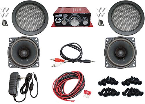 Audio Kit for Arcade Game, MAME Cabinet, or Virtual Pinball Machine