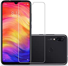 Xiaomi Redmi Note 7/Note 7 Pro Screen Protector,Laerion[2 Pack] Tempered Glass Screen Protector with 9H Anti Scratch Transparent HD Clear Bubble Free Protective Film