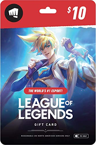 The best gifts for all league of legends fans - Riot points