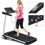 Fnova Treadmill Folding, Motorised Electric Treadmill Folding Running Machine, Treadmill Home Fitness Equipment