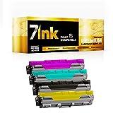 7INK - Cartucho de tóner para impresoras láser Brother DCP-9015CDW DCP-9020CDW HL-3140CW HL-3150CDW HL-3170CDW MFC-9130CW MFC-9140CDN (4 unidades)