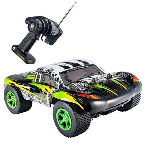 Speed run Buggy 4x4 radiocommande Noire et Flammes