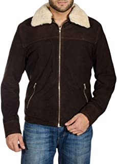 Rick Grimes Brown Real Suede Leather Jacket