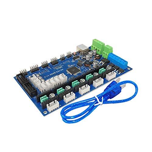 yingweifeng-01 High Precision Professional Suitable For 3D Printer Parts MKS Gen V1.4 Control Board Mega 2560 R3 Motherboard RepRap Ramps1.4 +TMC2100/TMC2130/TMC2208/DRV8825 Driver
