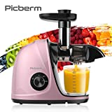 Best LIFE Home Juicers - Juicer Machines, Picberm PB2110V Slow Masticating Juicer Extractor Review
