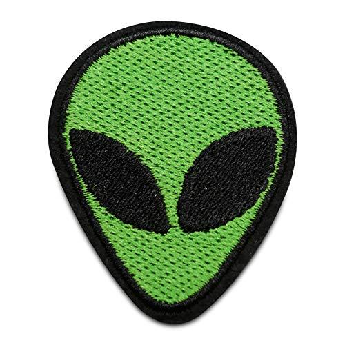 Finally Home Alien Emoji Bügelbild Patch zum Aufbügeln | UFO Patches, Aufbügelmotive