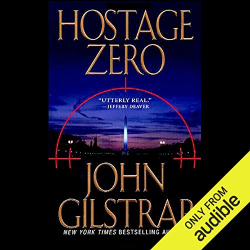 Hostage Zero audiobook cover art