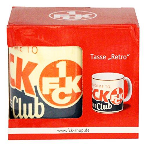 1. FC Kaiserslautern Tasse Retro, 3243