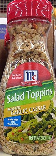 McCormick Salad Toppins - ROASTED GARLIC CAESAR 4.12oz (2 pack)
