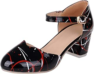 BalaMasa Womens APL12422 Pu Heeled Sandals