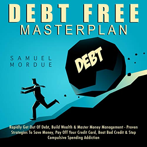 Debt Free Masterplan audiobook cover art