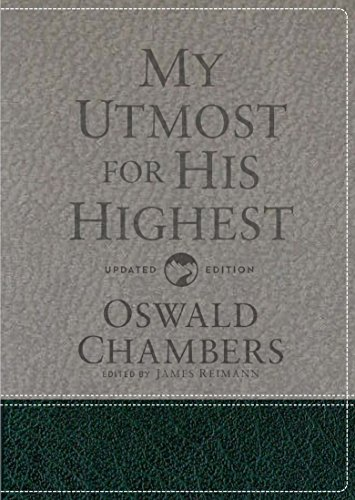 My Utmost for His Highest: Updated Language Gift Edition