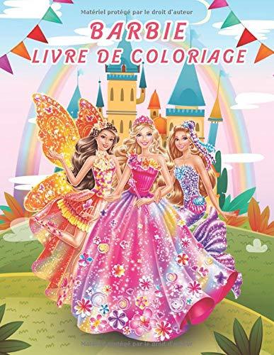 Barbie Livre de Coloriage: Livre de coloriage mignon pour...