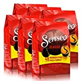 Senseo Regular / Classic Roast, New Design, Pack of 6, 6 x 48 Coffee Pods