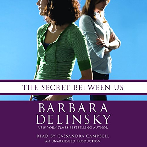 The Secret Between Us audiobook cover art