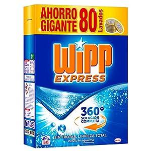 WiPP Express Detergente en Polvo – 80 Lavados (5,2 Kg)