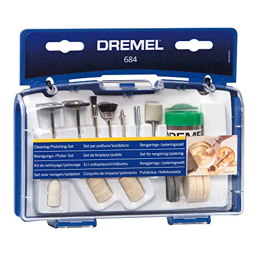 Dremel 20-Piece Cleaning & Polishing Rotary Tool Kit Now $9.04 (Was $19.12)