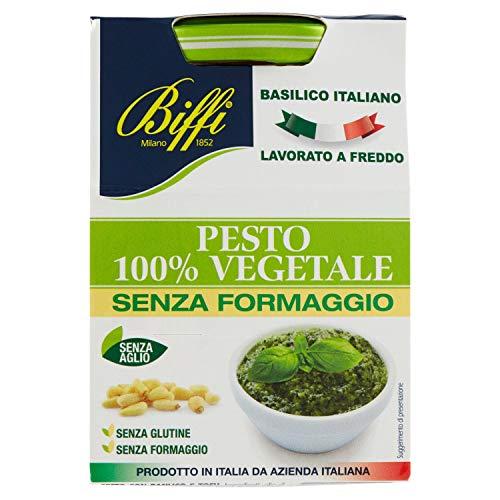 6 vasi vetro da 190g 100% Vegetale Senza aglio Senza glutine Senza lattosio Prodotto in Italia
