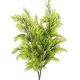 NAHUAA 2pcs Simulación de Plantas arbustos de plástico Plantas Artificiales arreglo de...