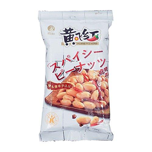黄飛紅麻辣花生 激辛スパイシー ピーナッツ 70g (1袋)