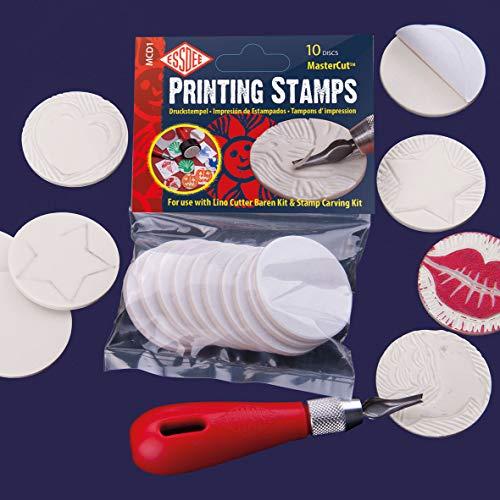 Essdee Briefmarken drucken, Gummi, Weiß, 10, 5 x 3 x 16, 5 cm
