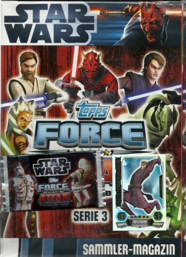 Star Wars Force Attax - SERIE 3 - Collection Starter 2012